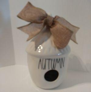 Rae Dunn Birdhouse Autumn
